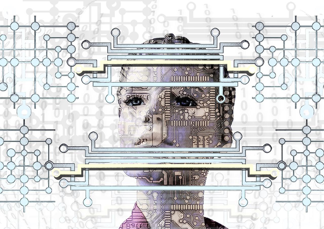Bot face - Gesicht eines Bots